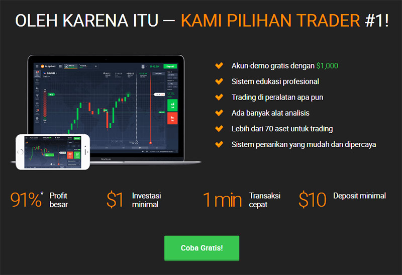 Cara Trading Binary Di Iq Option
